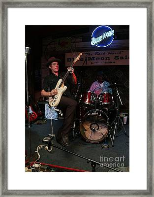 Louisiana House Rockers 04 Framed Print by Mark Guillory