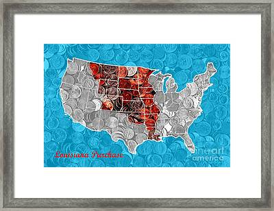 Louisiana Purchase Framed Art Prints Fine Art America