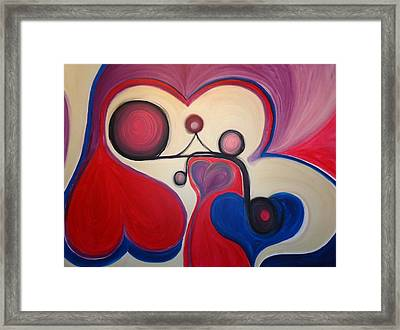 Love - To Have A Feeling Of Intense Desire And Attraction Toward. Framed Print