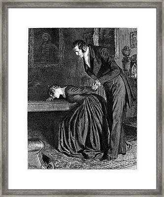 Love, 1886 Framed Print by Granger