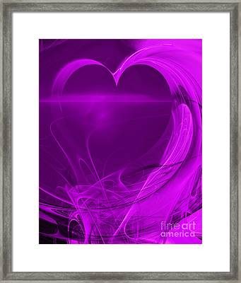 Love . A120423.279 Framed Print