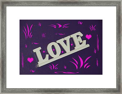 Love Framed Print by Aimee L Maher Photography and Art Visit ALMGallerydotcom