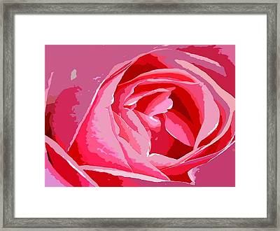 Love Framed Print by Carrie OBrien Sibley