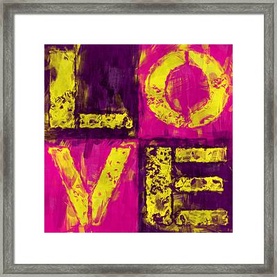 Love Framed Print by David G Paul