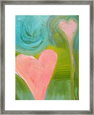 Love Flow Framed Print