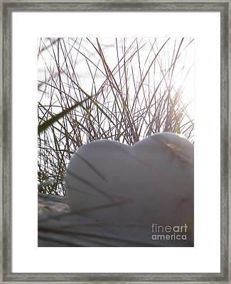 Love Grass Framed Print by Laurence Oliver