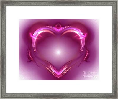 Love Framed Print by Kirila Djelepova