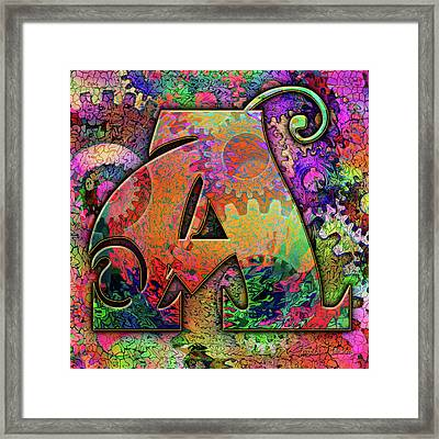 Love Letters A Framed Print by Barbara Berney