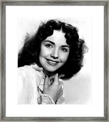 Love Letters, Jennifer Jones, 1945 Framed Print