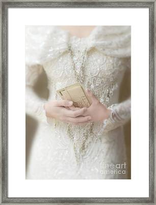 Love Letters Framed Print by Jill Battaglia