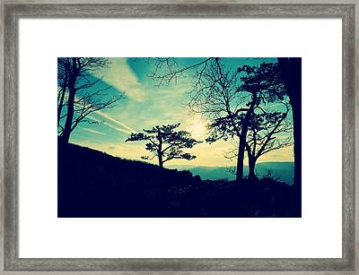 Love Lights The Sky Framed Print
