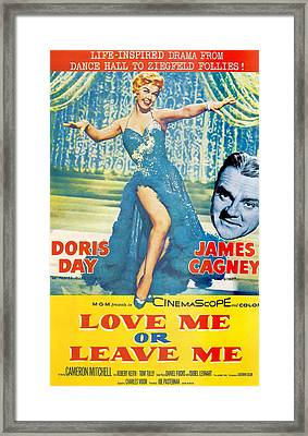 Love Me Or Leave Me Framed Print by Georgia Fowler
