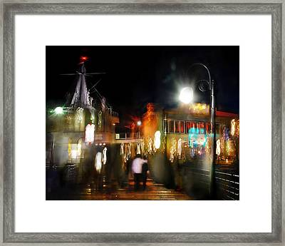 Love Moment Framed Print by Yulia