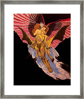 Love Never Dies Framed Print by Shawn OLeary