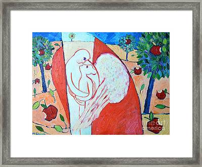 Love Never Fails - Love Bears All Things - Endures All Things Framed Print by Ana Maria Edulescu