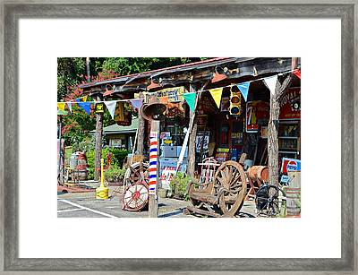 Love Of Antiques Framed Print by Susan Leggett