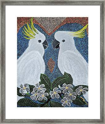 Love Of The Cockatoos Framed Print