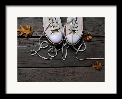 Converse Shoe Framed Prints