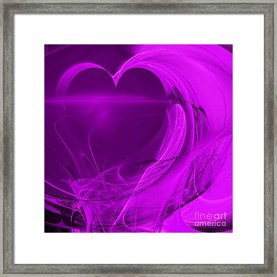 Love . Square . A120423.279 Framed Print