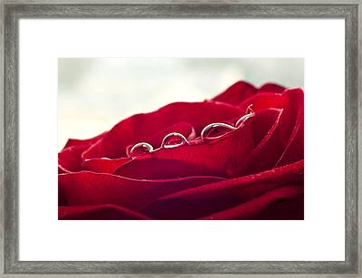 Love Tears Framed Print by Ivan Vukelic