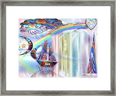 Love Those True Colors Framed Print by Catherine Herbert