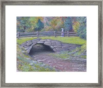 Lovely Day At Idewild Park Framed Print by Penny Neimiller