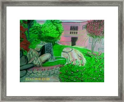 Lovely Landscape Framed Print by Annette Stovall