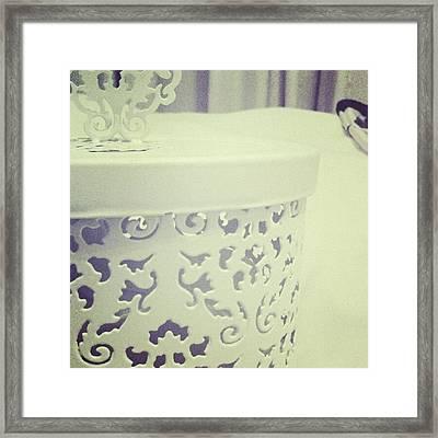 #lovely #pattern #victorian #design Framed Print