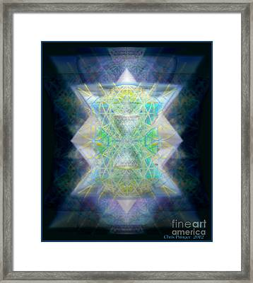 Love's Chalice From The Druid Tree Of Life Framed Print