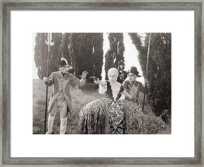 Loves Of Casanova, 1927 Framed Print by Granger