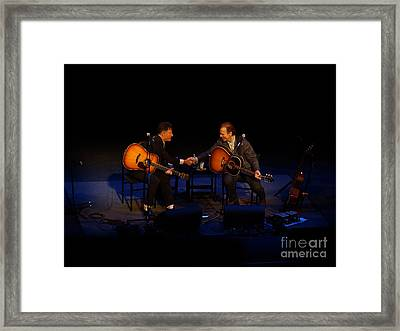 Lovett And Hiatt Framed Print
