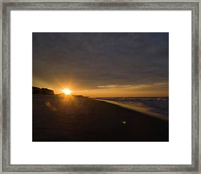 Low Ceiling - Holden Beach Framed Print