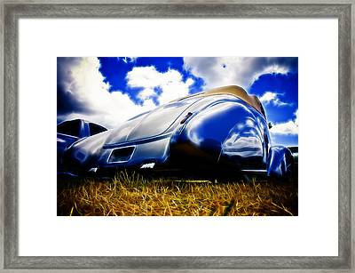 Low Ford Roadster Framed Print by Phil 'motography' Clark