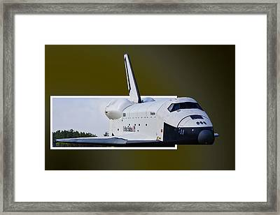 Low Pass Framed Print by Lawrence Ott