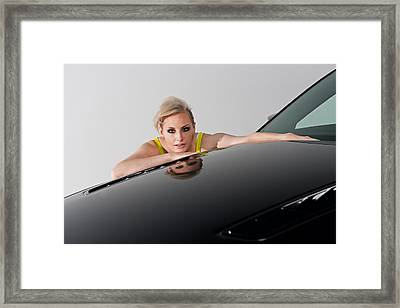 Framed Print featuring the photograph Low Reflection by Jim Boardman