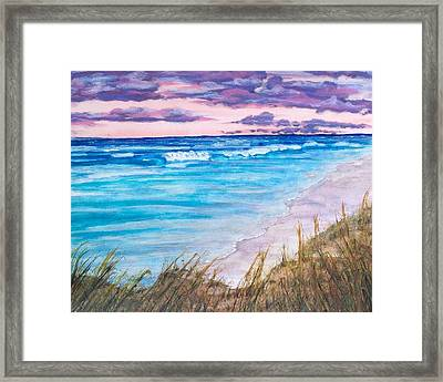 Low Tide Framed Print by Jeanette Stewart
