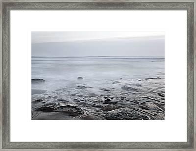 Low Tide Framed Print by Svetlana Sewell