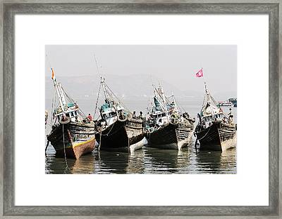 Low Water Framed Print by Andrey Novikoff