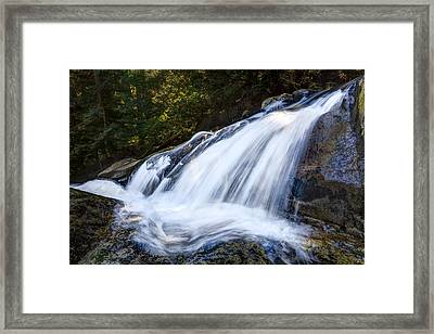 Lower Cascades Of Malachite Creek Framed Print