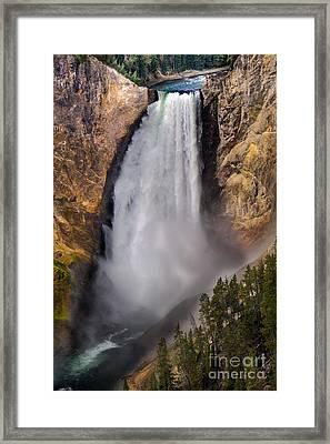 Lower Falls II Framed Print