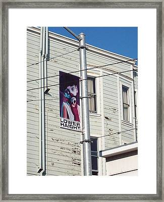 Lower Haight Framed Print by Jimi Bush