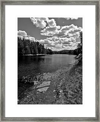 Lower Madawaska River Framed Print by Yves Pelletier