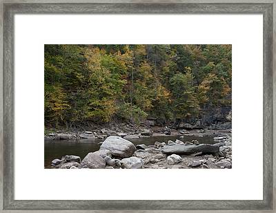 Loyalsock Creek Worlds End State Park Framed Print