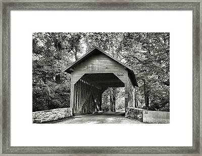 Loy's Station Bridge II Framed Print by Steven Ainsworth