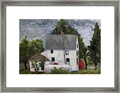 Lp Monet Framed Print by Charlie Spear