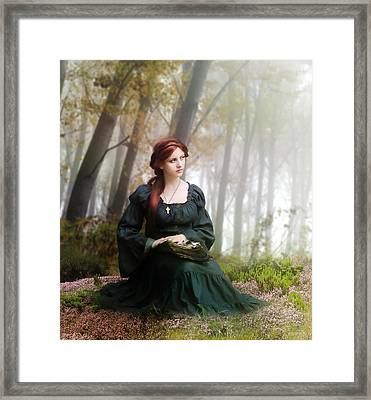 Lucid Contemplation Framed Print by Mary Hood