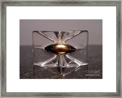 Lucite 1 Framed Print by Dwight Goss