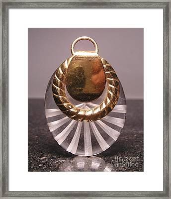 Lucite 13 Framed Print by Dwight Goss