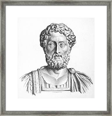 Lucius Commodus (161-192 A.d.) Framed Print by Granger