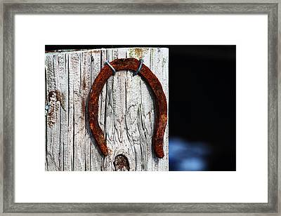 Lucky Framed Print by Andrew Pacheco